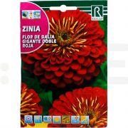 rocalba seminte flor de dalia gigante doble roja 4 g - 1