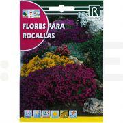 rocalba seminte flores para rocallas 3 g - 1