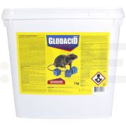 unichem raticid rodenticid glodacid plus wax blocks 5 kg - 5