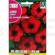 rocalba seminte in decorativ lino de grandes flores 2 6 g - 1