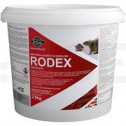 pelgar raticid rodenticid rodex wax block 2 5 kg - 1