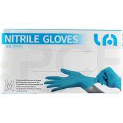 lyncmed echipament protectie manusi nitril blue nepudrate m - 1