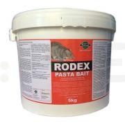 pelgar raticid rodenticid rodex pasta bait 5 kg - 2