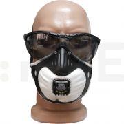 jsp masca semi respiratorie kit protectie 3x masti supapa ffp2v filterspec smoke - 1