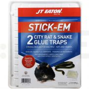 jt eaton placa adeziva stick em capcana adeziva pentru sobolani si serpi 2 bucati - 1