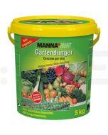 hauert ingrasamant manna biorit npk organic gartendunger 5 kg - 1